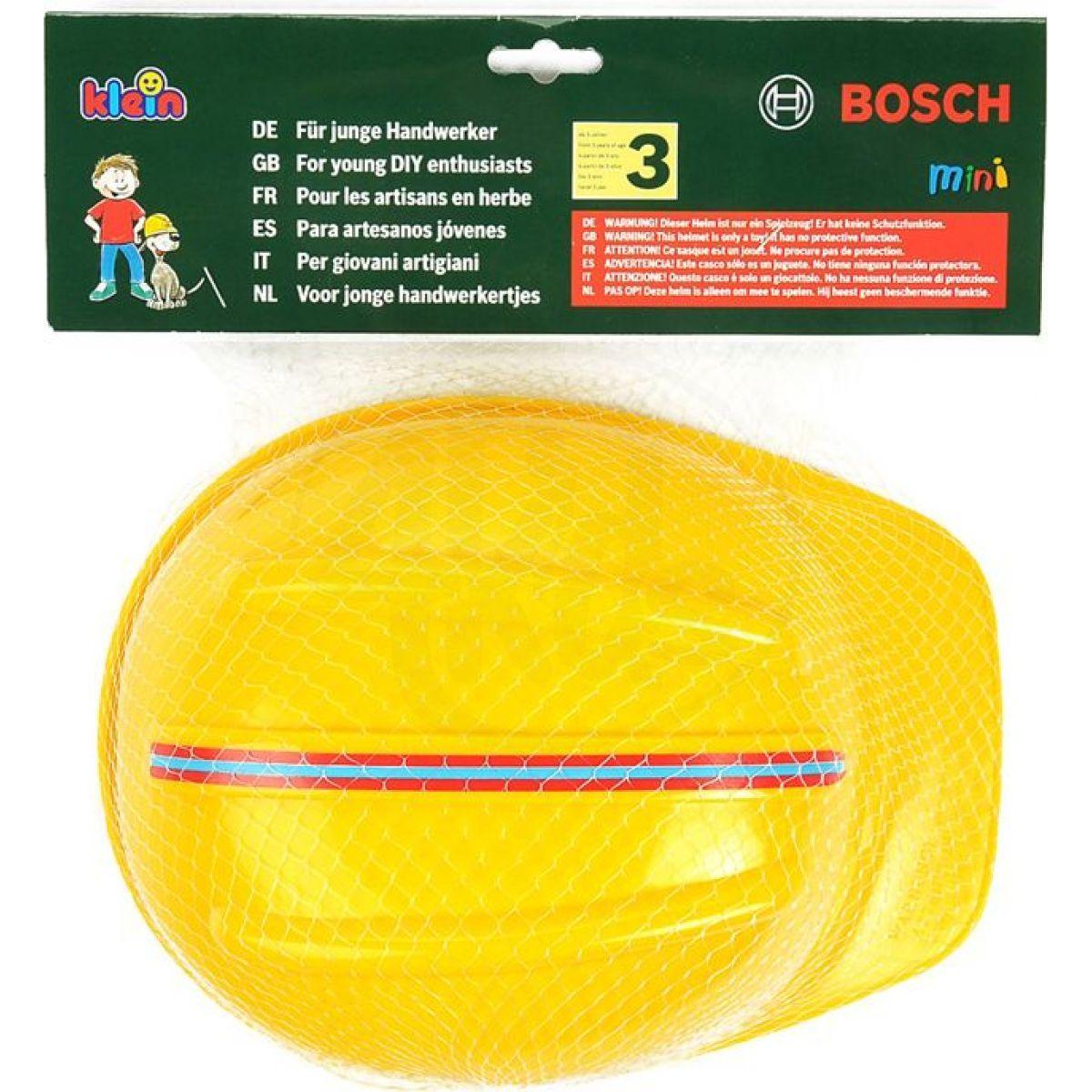 663a7ad679c Klein Pracovní přilba Bosch pro malé stavebníky