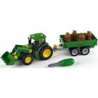 Klein John Deere Traktor s přívěsem