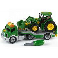 Klein John Deere Transporter s traktorem