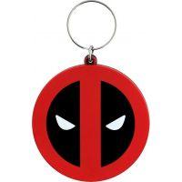 Epee Merch Klíčenka gumová Deadpool logo