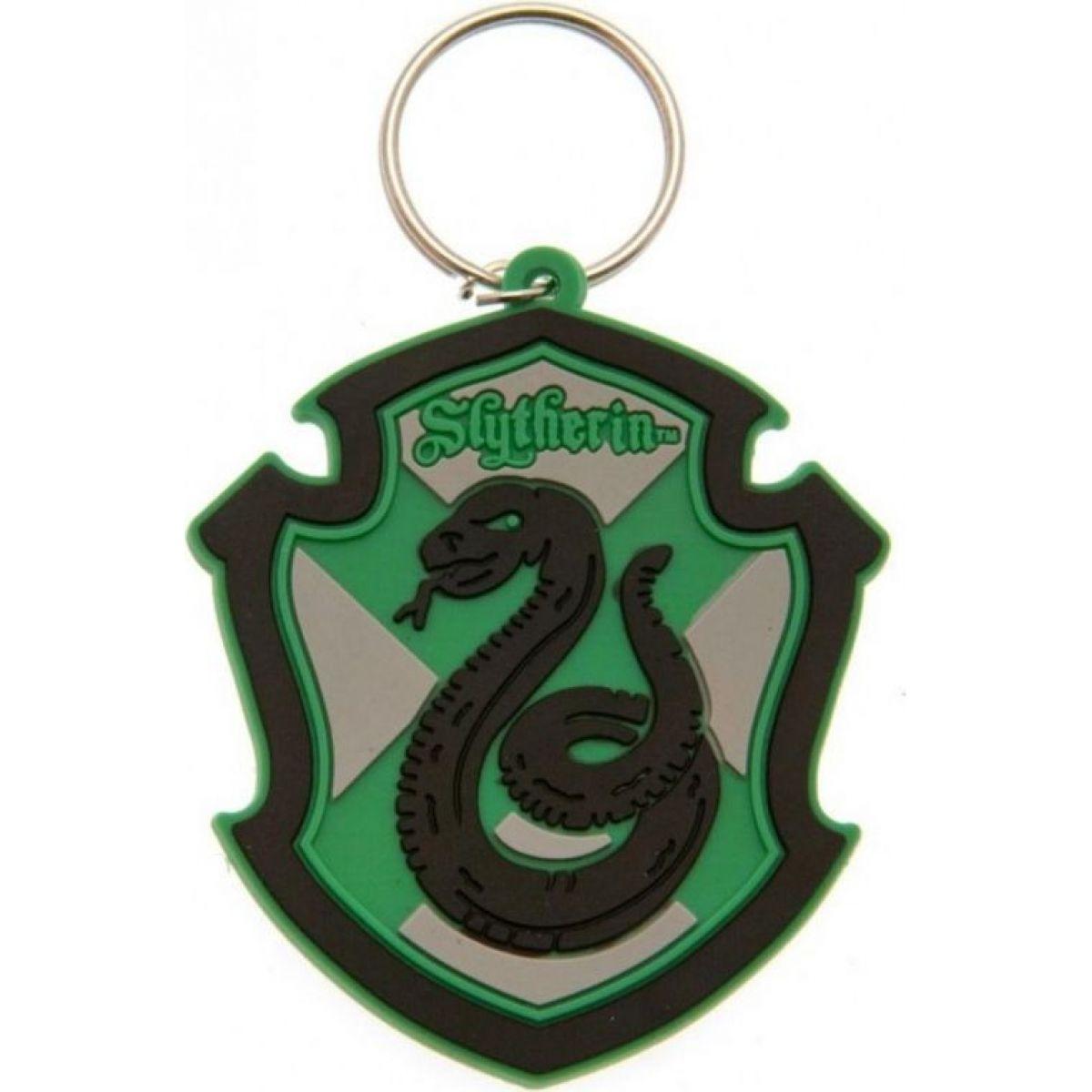 Kľúčenka gumová Harry Potter Slizolin