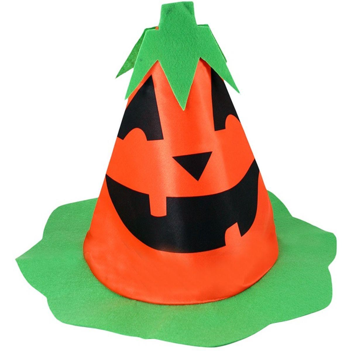 Rappa Klobouk dětský Halloween dýně