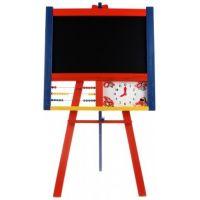 Kobelár Tabule stojanová 100 cm s počítadlem a hodinami barevná