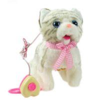Kočka na kabel bílá