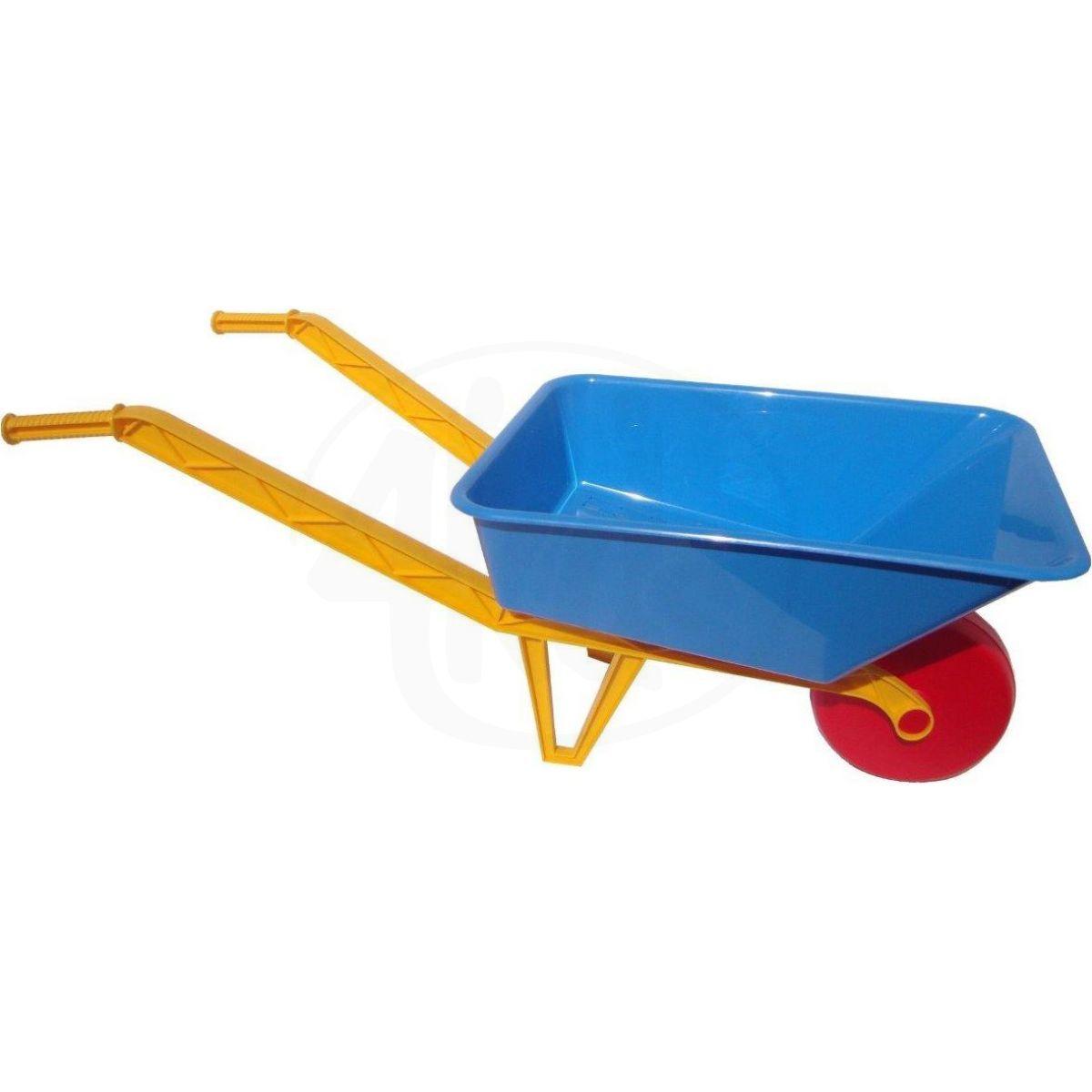 Toy Kolečko velké dětské plastové na písek - modré