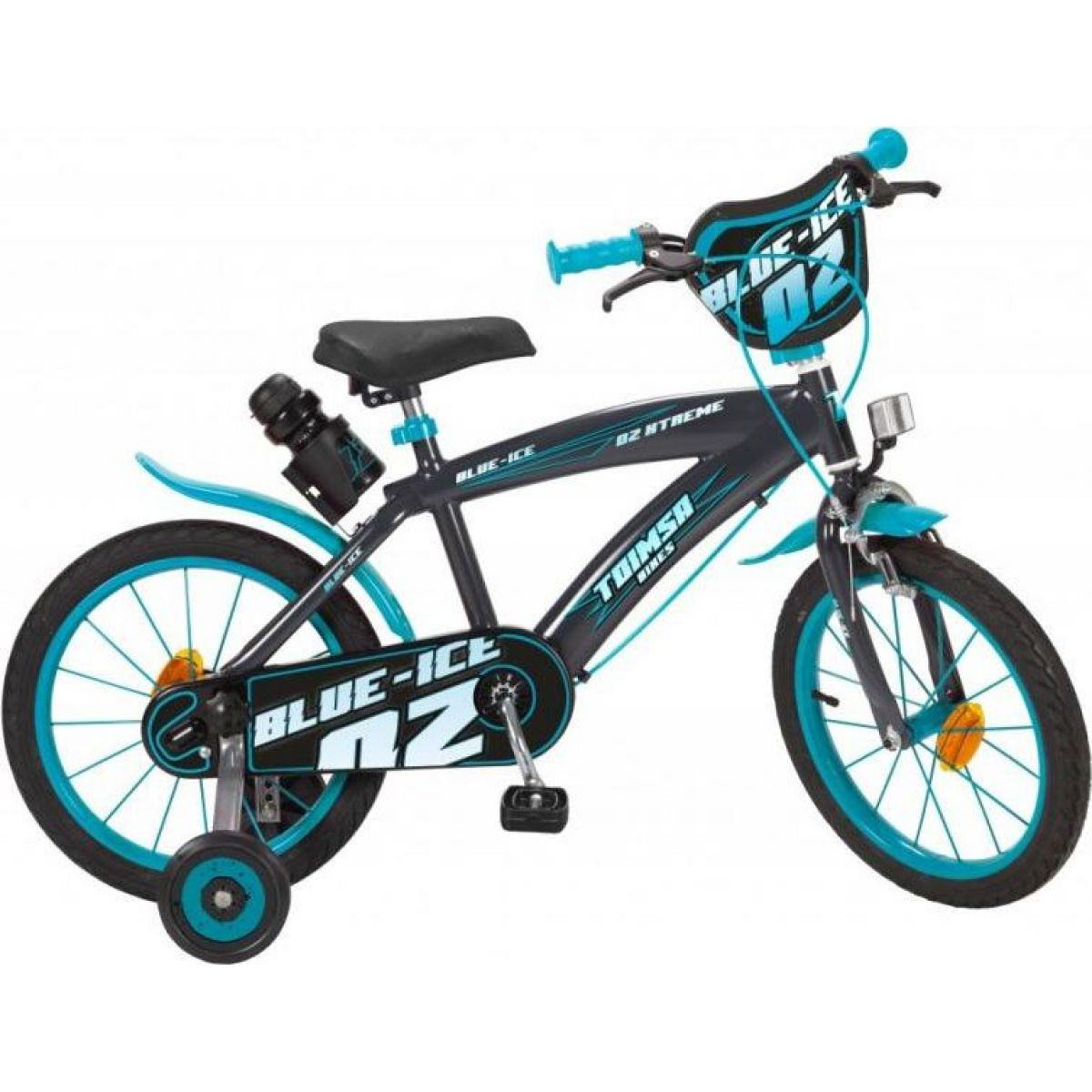 Toimsu Bicykel detské Blue Ice modro čierne 16