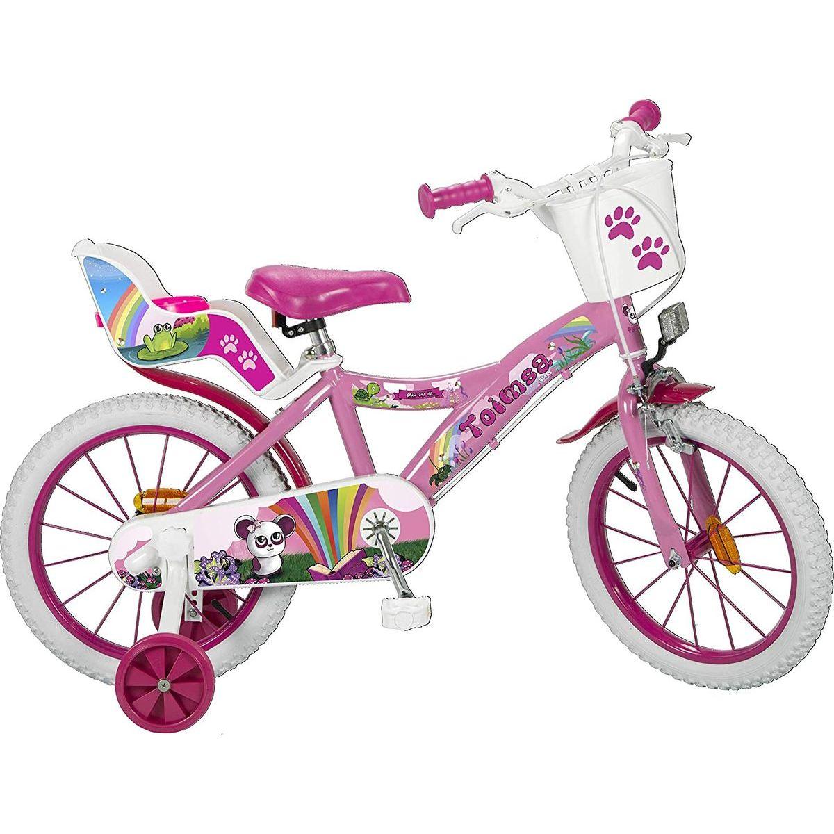 Toimsu Bicykel detské Fantasy ružovobiele 16
