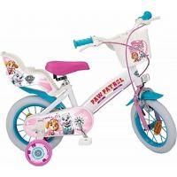 Toimsu Bicykel detské Tlapková patrola bieloružové 12