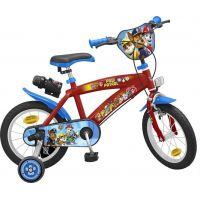 Toimsu Bicykel detské Tlapková patrola modročervené 14