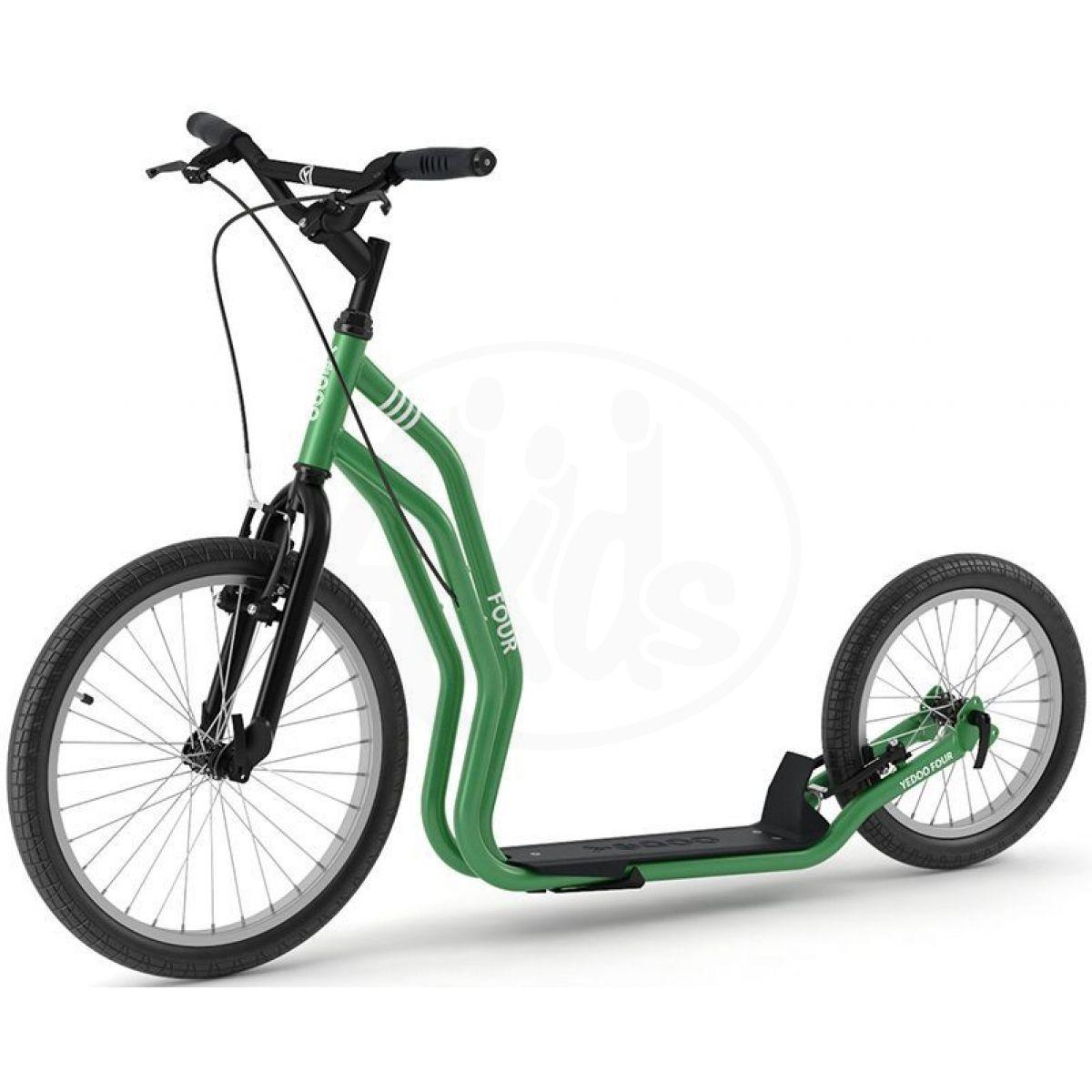 Koloběžka Yedoo Four řada Numbers green