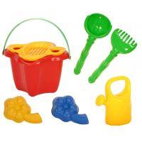 Toy Komplet na písek s formičkami a konvičkou 8355