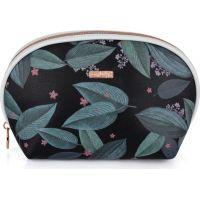 Oxy Lady Kosmetická taška kulatá Dark leaves