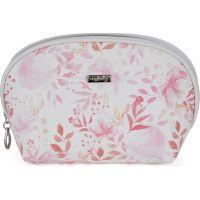 Oxy Lady Kosmetická taška kulatá Pink flowers