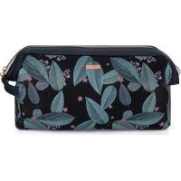 Oxy Lady Kosmetická taška velká Dark leaves