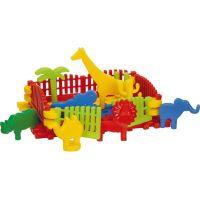 Toy Kostky kostrukční Safari