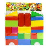 Toy Kostky stavební 22 ks