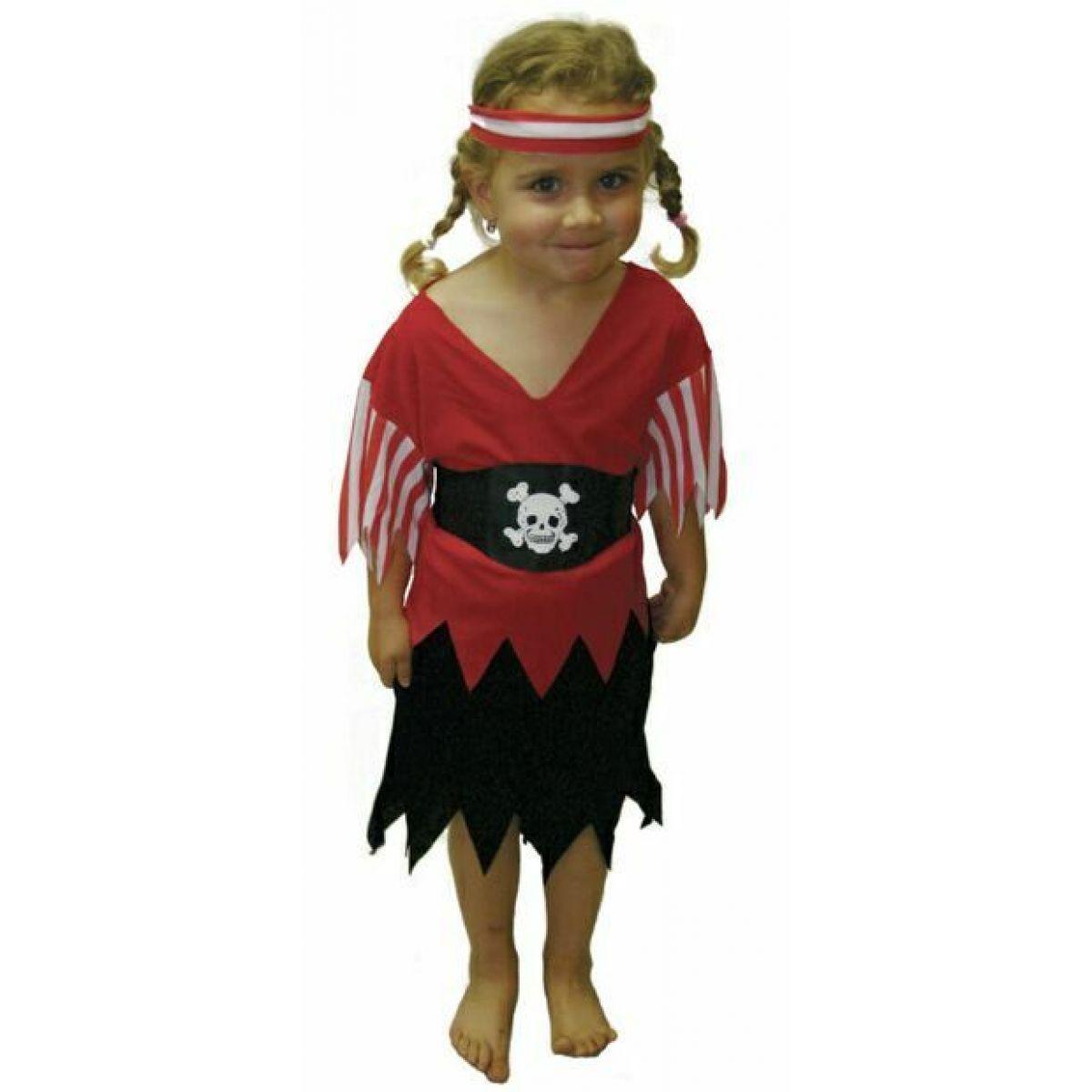 Kostým pirátka Rappa