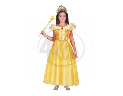 Rappa Kostým princezna Bella žlutý vel.S
