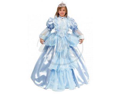 Rappa Kostým princezna modrá, vel M