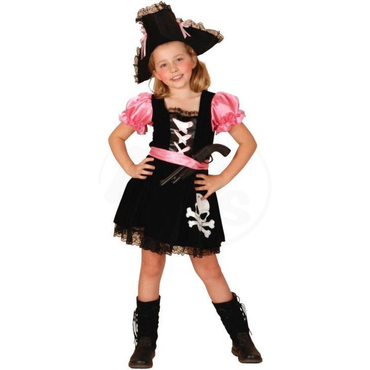 2aa6e47d3ee0 Made Kostým na karneval Pirátka 110-120 cm