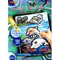 Creatoys Kouzelné malování vodou Delfíni