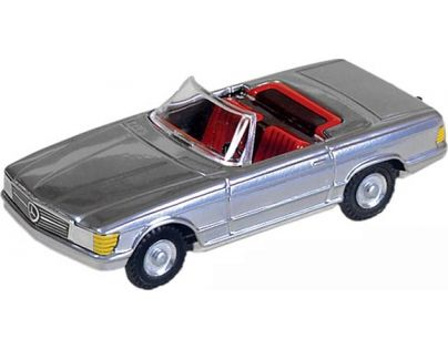 Kovap Mercedes kabriolet - Stříbrná