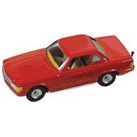 Kovap Mercedes coupé - Červený