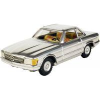 Kovap Mercedes coupé - Stříbrný