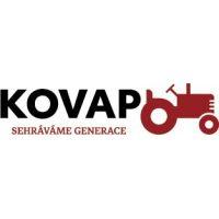 Kovap Traktor a valník - Červená 2