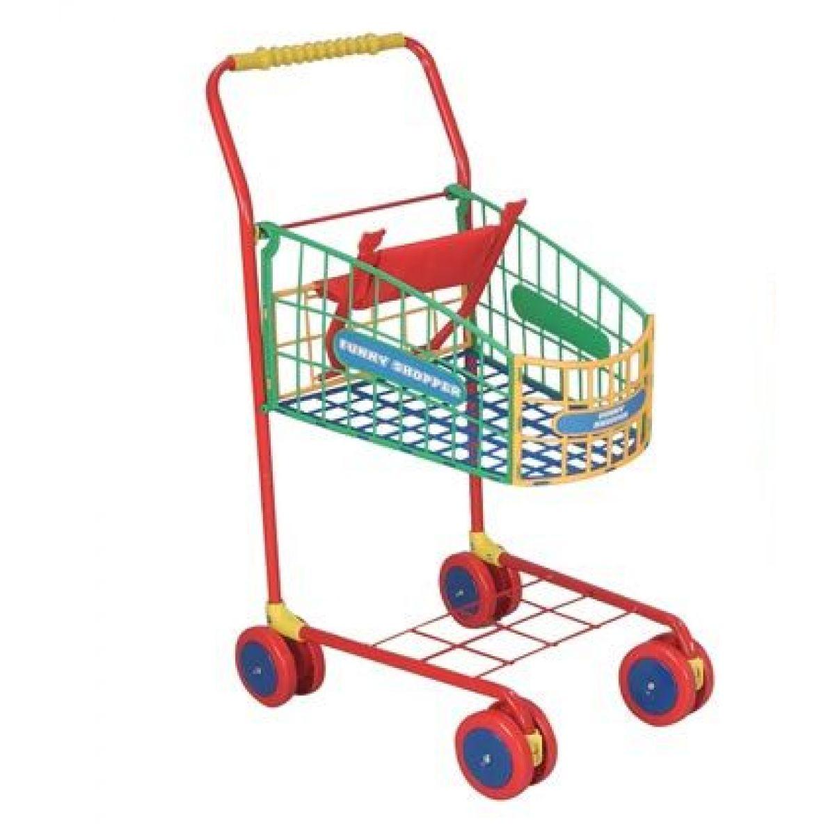 Simba S 4504899 - Kovový nákupní vozík