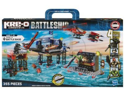 KRE-O Battleship stavebnice mořská pevnost Hasbro 38974