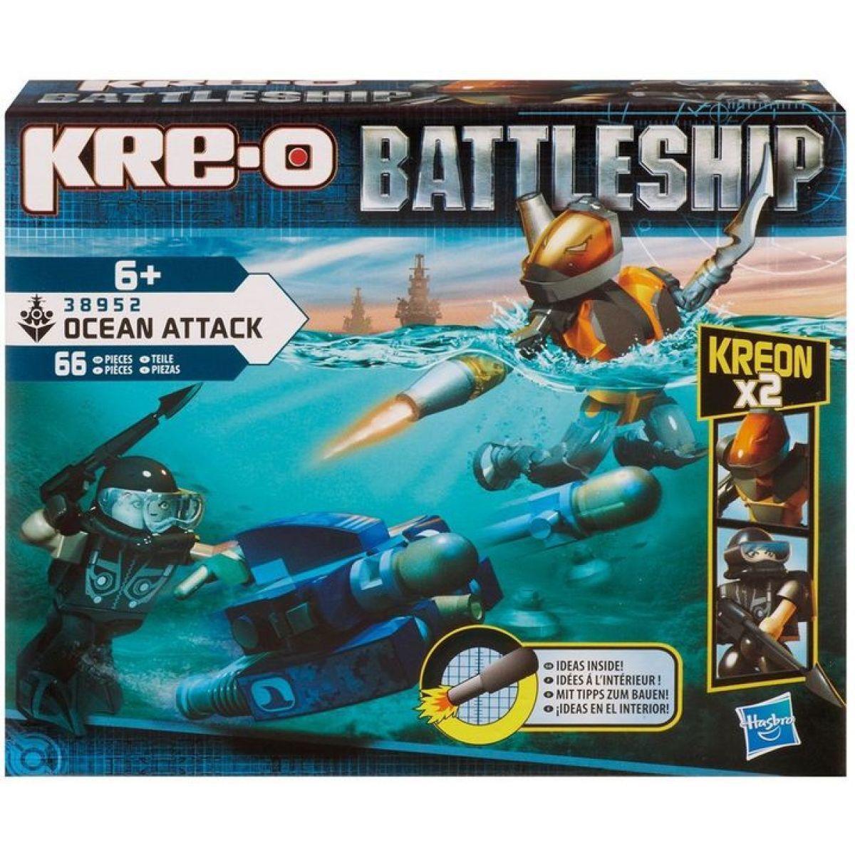 Kre-O Battleship Stavebnice podmořský útok