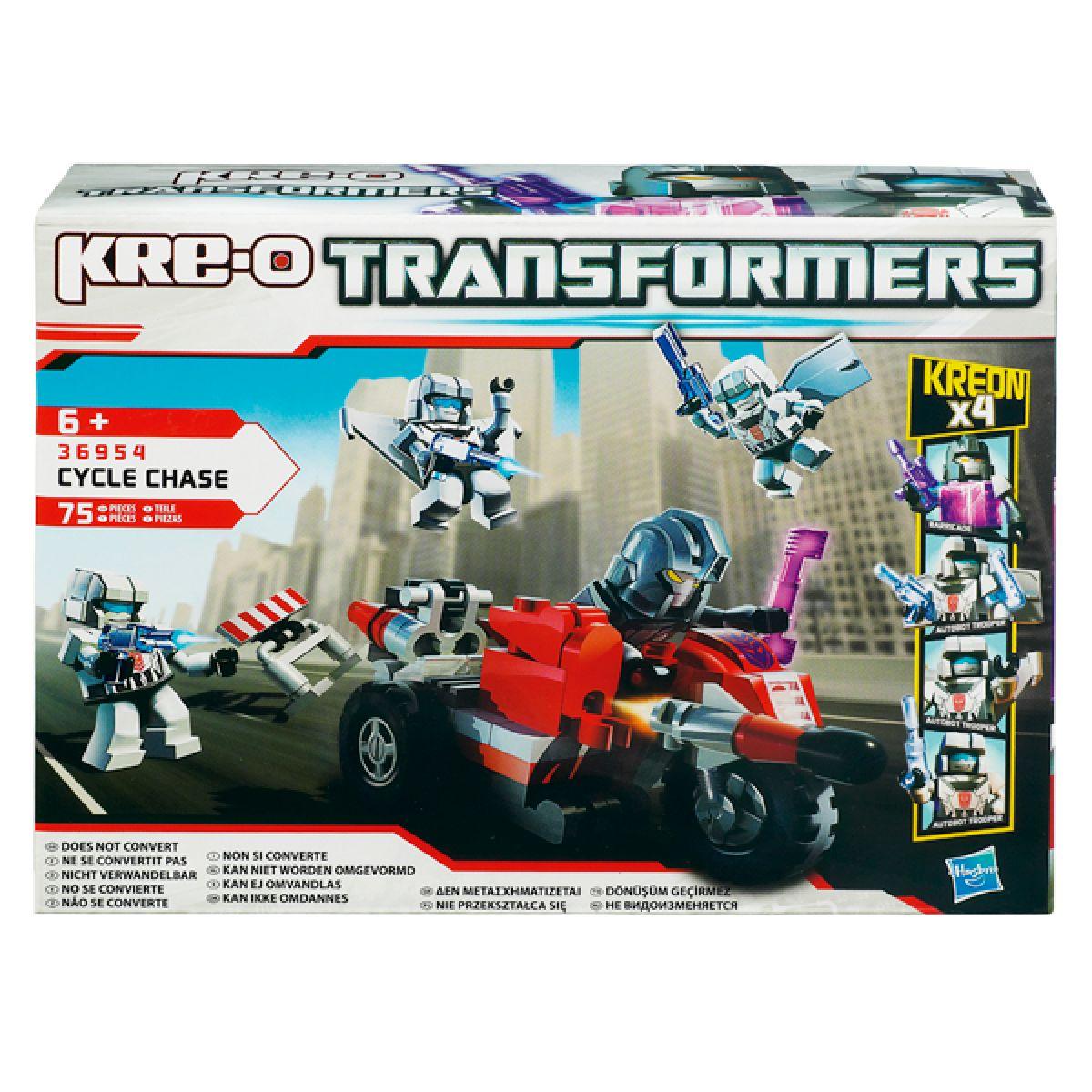 Kre-O Transformers stavebnice s motocyklem a raketami