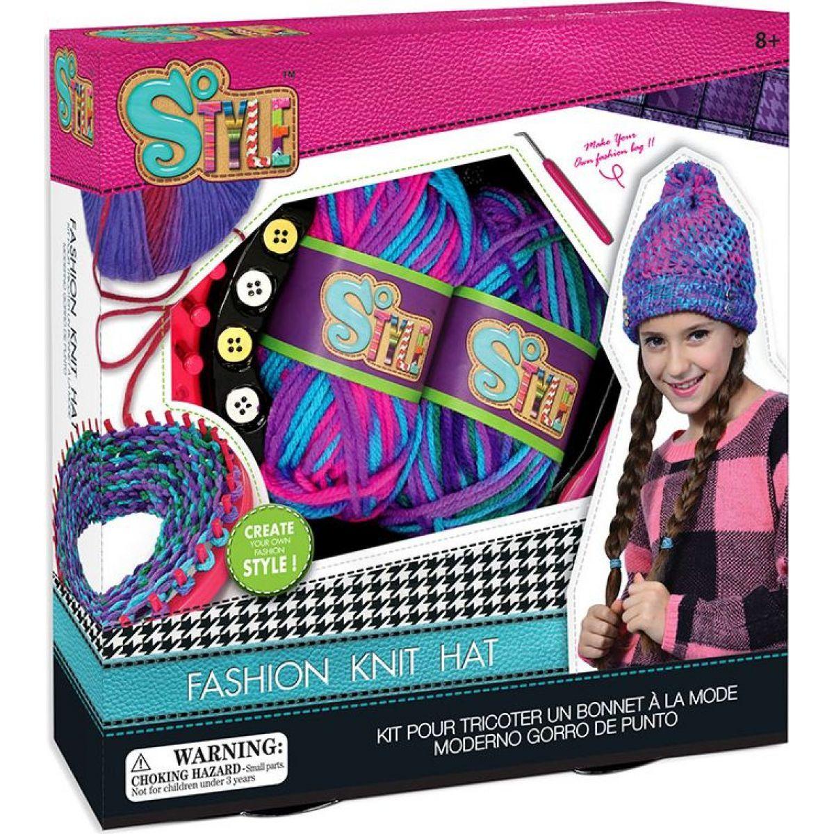 c002e3f9faf HM Studio Kreativní sada Moderní pletení čepic