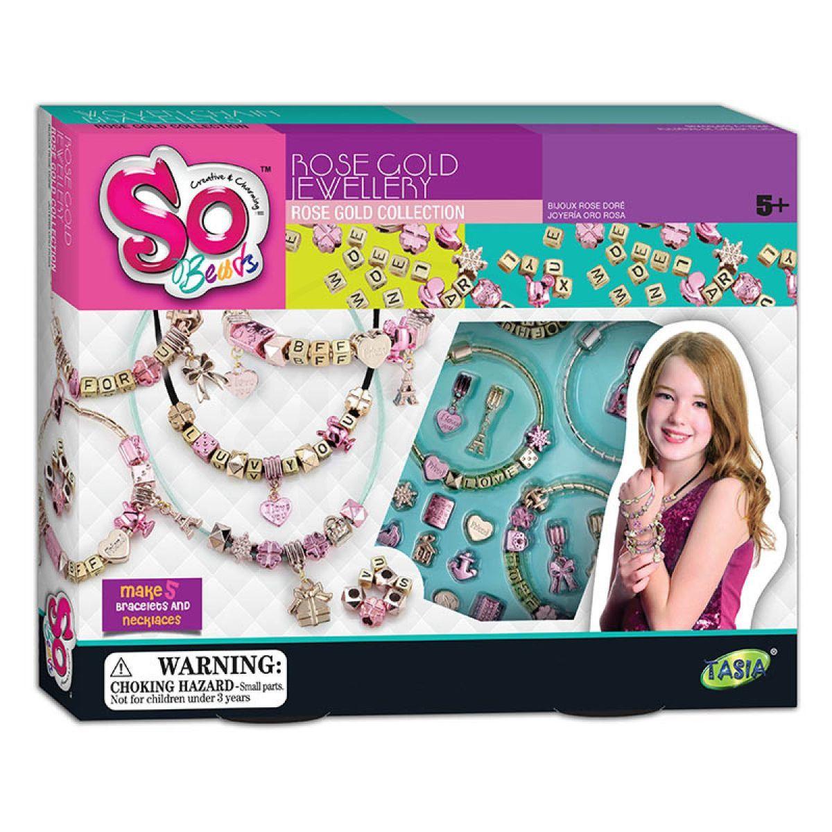 HM Studio Kreativní sada Módní náramky a náhrdelníky s písmeny