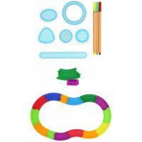 Kreativní sada Spiral art set plastová