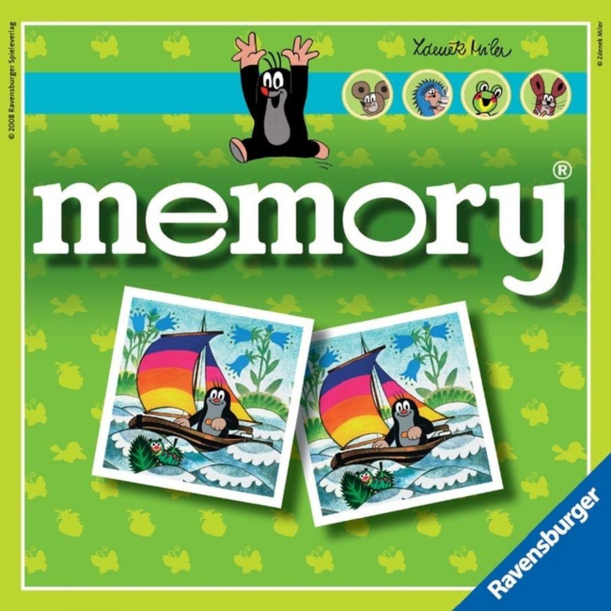 Krteček MEMORY