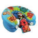 K´s Kids Aréna kulatá s polštáři, hrazdičkou a závěsnými hračkami 2