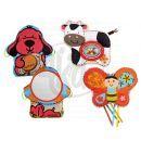 K´s Kids Aréna kulatá s polštáři, hrazdičkou a závěsnými hračkami 3