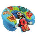 K's Kids Aréna kulatá s polštáři, hrazdičkou a závěsnými hračkami 2