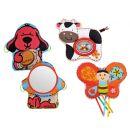 K's Kids Aréna kulatá s polštáři, hrazdičkou a závěsnými hračkami 3
