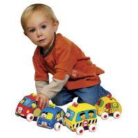 K's Kids Látkovová auta s natahovacím pohonem 3