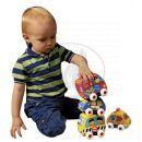 K´s Kids Látkovová auta s natahovacím pohonem 4