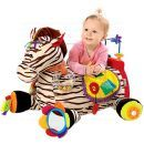 K's Kids Velká zebra Ryan s 28 funkcemi zábavy 4