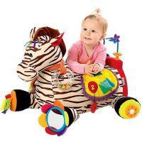 K's Kids Velká zebra Ryan s 28 funkcemi zábavy