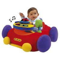 """K's Kids KA10345 - Velké látkové elektronické auto """"go go"""""""