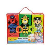 K's Kids KA10622 - Zábavné textilní kostky