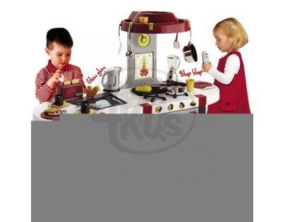 Kuchyňka TEFAL French Touch Excellence s tekoucí vodou Smoby 024460