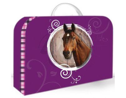 Karton P+P Kufřík Kůň velký
