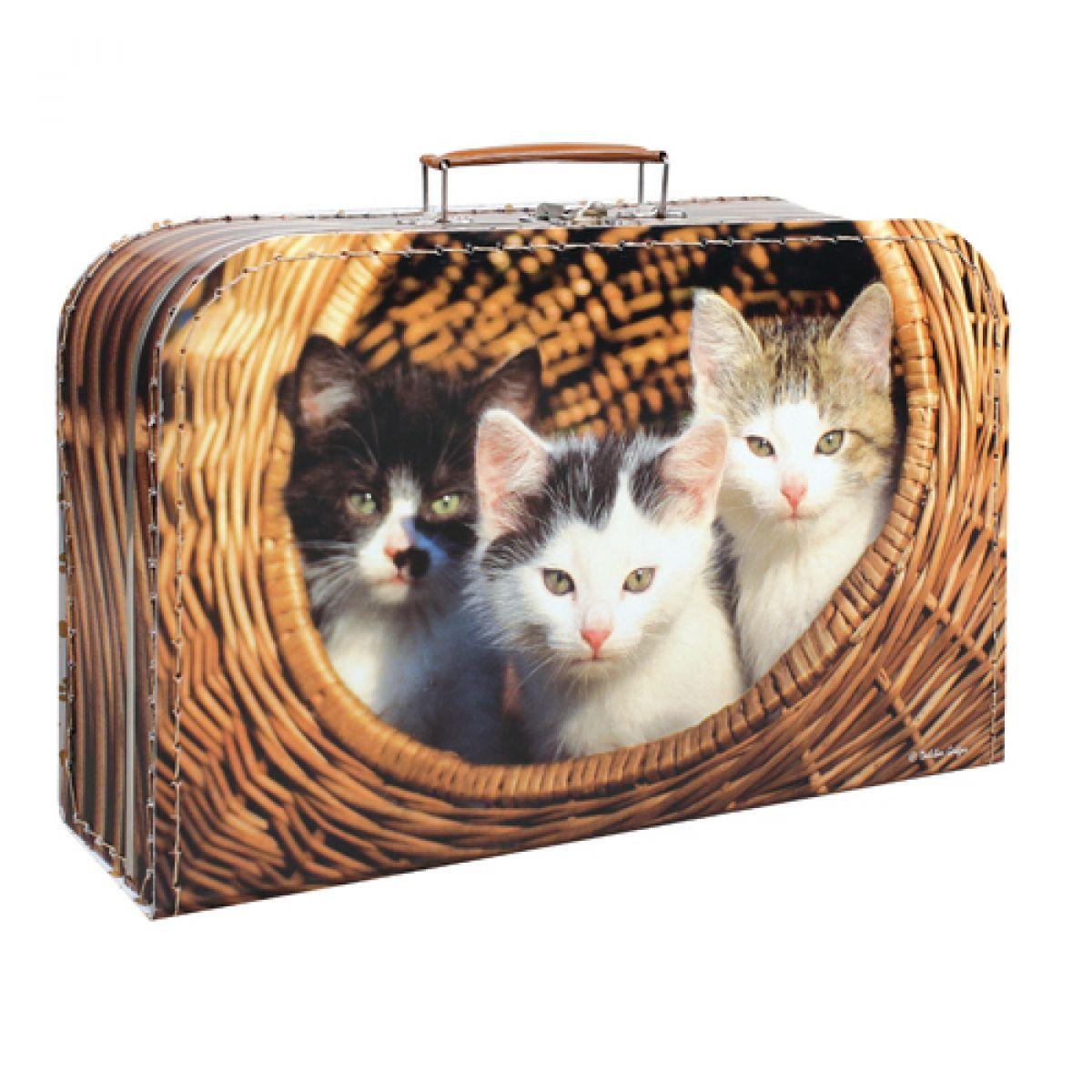 Kazeto 9048-35-2202 - Kufřík s koťátky 35cm